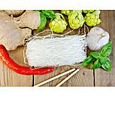 Asian Cuisine, Glass Noodles