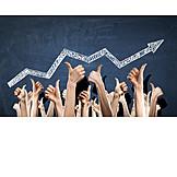 Economy, Upswing, Thumbs Up