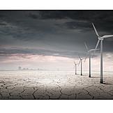 Trockenheit, Alternative Energie, Klimawandel