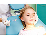 Patientin, Kinderzahnarzt