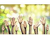 Hands, Team, Together