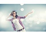 Music, Listening To Music, Headphones, Djane