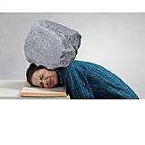 Stressed, Migraine, Burden