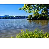 Danube river, Dunakanyar, Vác