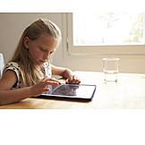 Mädchen, Freizeit & Entertainment, Tablet-pc