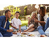 Family, Picnic, Summer