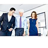 Teamarbeit, Meeting, Mitarbeiter, Kollegen