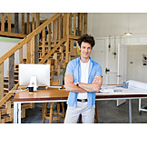 Self employed, Freelancer, Homeoffice