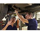 Education, Auto Repair Shop, Mechanic