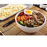 Japanische Küche, Nudelsuppe, Ramen