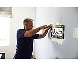 Craft, Screws, Fixation, Craftsman, Electrician, Fastening, Installing