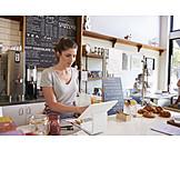 Gastronomie, Café, Bestellung, Barista