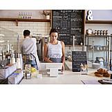Job & Profession, Gastronomy, Work, Colleagues, Waiter