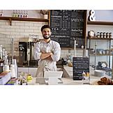 Cafe, Bakery, Employee, Startup, Sales executive, Waiter, Barista