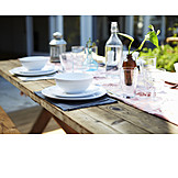 Place setting, Tableware, Dining table