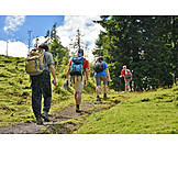 Hiking, Recreation, Hiking group