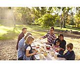 Picknick, Familienausflug, Naturerlebnis