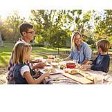 Ferien, Picknick, Familienausflug