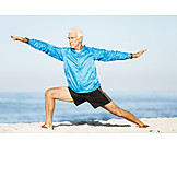 Active Seniors, Fit, Stretching