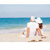 Beach, Relaxing, Love Couple