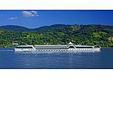 Cruise ship, Danube river