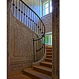 Old house, Spiral staircase