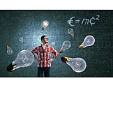 Scientist, Inventor, Relativity, E mc2
