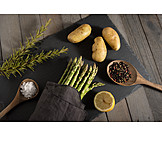 Vegetable, Spices & Ingredients, Green Asparagus