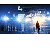 Economy, Statistics, Matrix, Digitization, Data Analysis