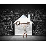 House, Strategy, Key, Low Energy House