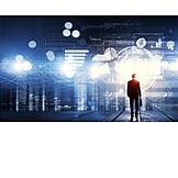 Business, Digital, Diagram, Hightech, Chart, Virtual