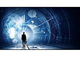 Business, Digital, Mensch, Hightech, Virtuell