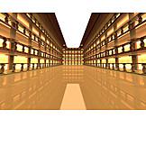 Architecture, 3d Rendering, Atrium
