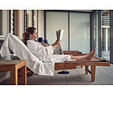 Young Woman, Woman, Wellness & Relax, Relaxation, Spa