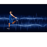 Sport & Fitness, Laufen, Bewegung, Joggen, Ekg