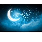 Dreams, Music, Moon, Half Moon