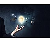 Wissenschaft, Forschung, Sonnensystem, Astronomie, Planet