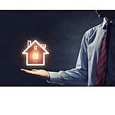 Haus, Immobilie, Immobilienmakler, Gebäudeversicherung