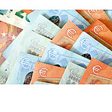 Euro, Banknote, Savings