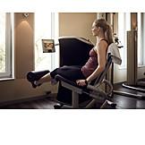 Fitness Equipment, Workout, Leg Curl
