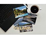 Holiday & Travel, Laptop, Vacation Photo