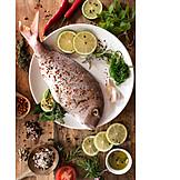 Zutaten, Dorade, Fischgericht