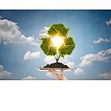 Umweltschutz, Recycling, Recyclingsymbol
