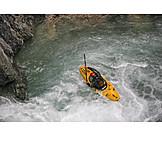Extreme Sports, Kayak, Whitewater Kayaking
