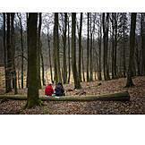 Hiking, Picnic, Rest