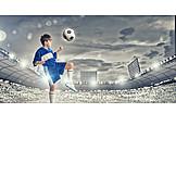Boy, Soccer, Junior, Child Prodigy