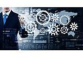 Business, Zahnrad, Produktion, Getriebe, Erfindung