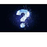Dienstleistung, Fragezeichen, Frage, Faq