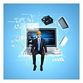 Internet, Worldwide, Workplace, Digitization