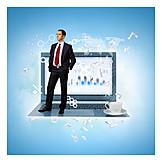 Business, Online, Arbeitsplatz, Digitalisierung
